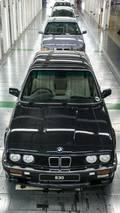 Last BMW 3 Series Sedan built at Rosslyn factory in South Africa