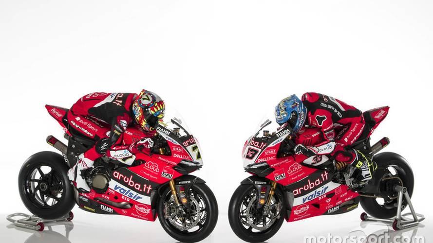 El equipo Ducati del WorldSBK se presenta con el título como objetivo