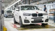 BMW X4 üretiminde kilometre taşı