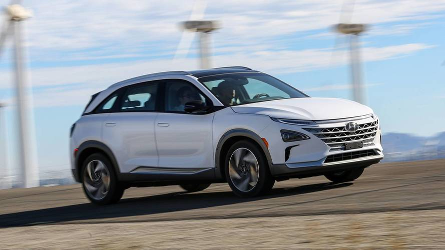 Hyundai bets on hydrogen fuel cell for new auto
