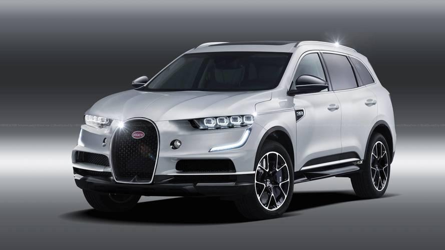 Pont a Bugatti maradna ki az SUV-lázból?!