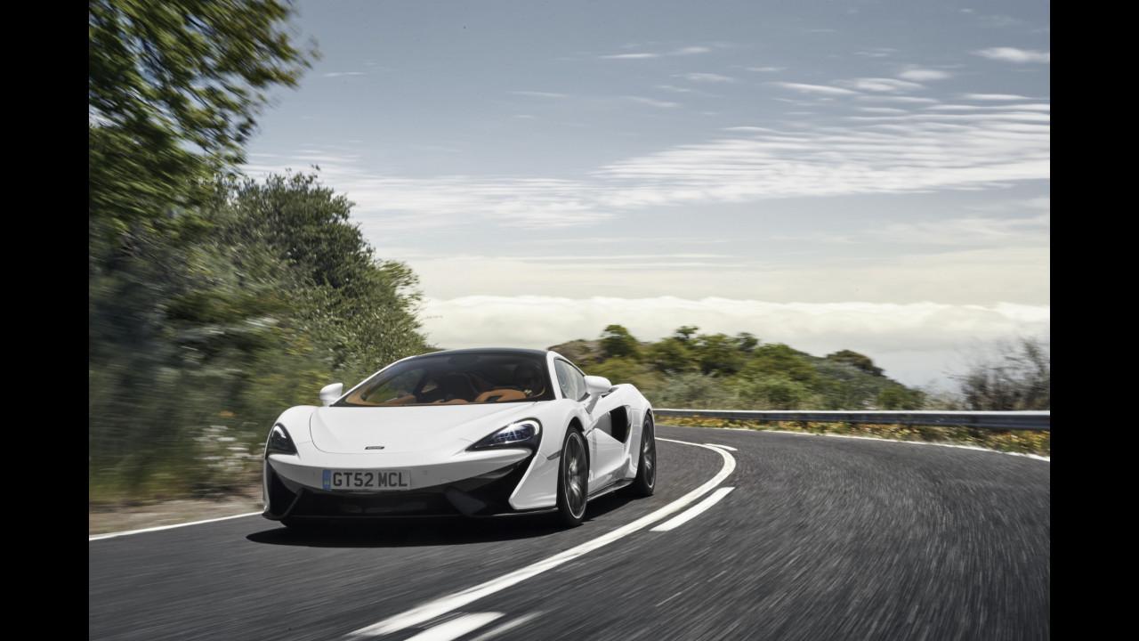 McLaren, novità nella gamma Super Series