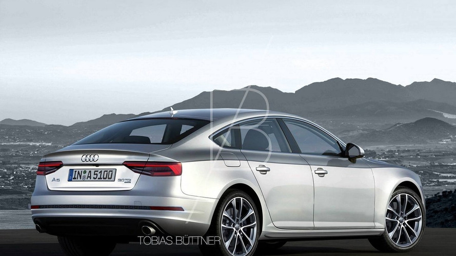 Could this be the shape of the next-gen Audi A5 Sportback?