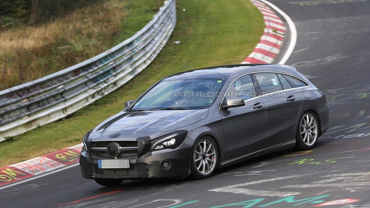 2016 Mercedes CLA Shooting Brake spy photo