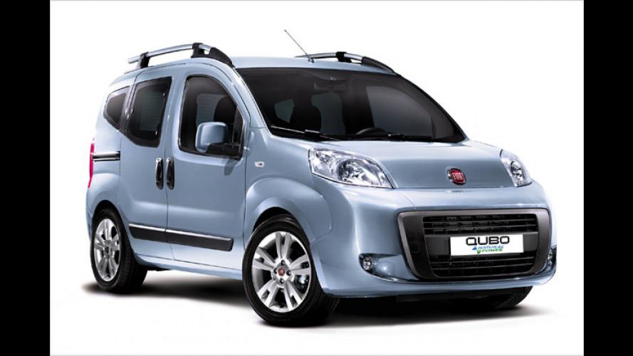 Sparen mit dem Fiat Qubo: Jetzt als Erdgas-Variante