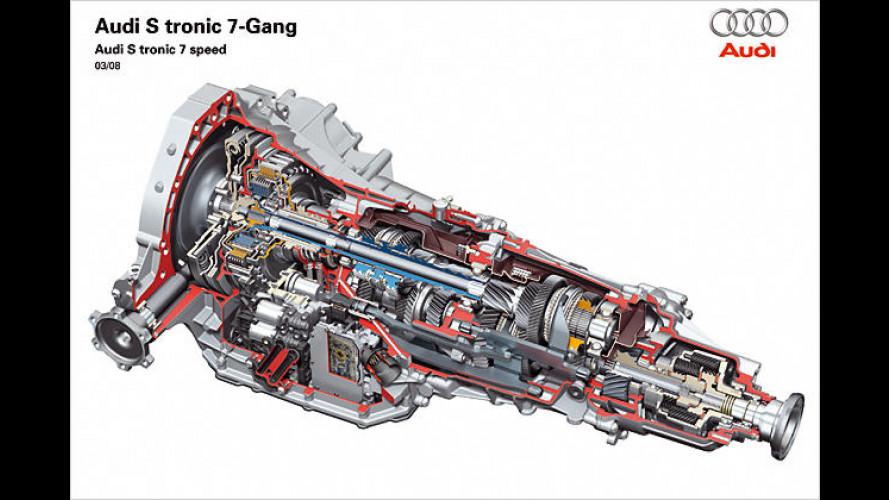 Neues Doppelkupplungsgetriebe: Audi-Siebengang-S-Tronic