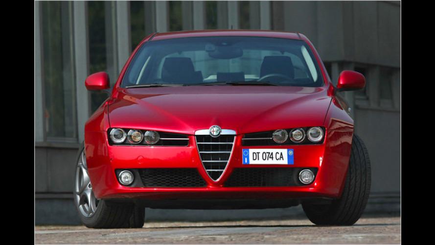 Alfa 159 1.8 TBi: 200 PS für fast 5000 Euro weniger