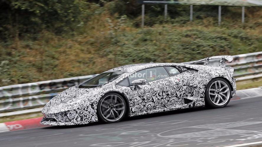 Lamborghini Huracan Superleggera aero detaylarını gizliyor