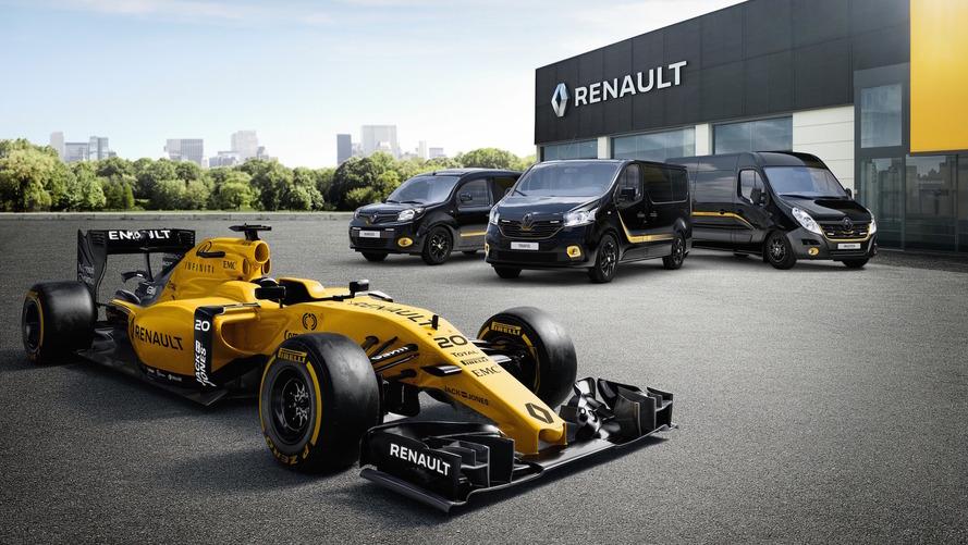 Quand les utilitaires Renault se prennent pour des F1 !