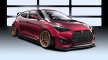 Hyundai Veloster Gurnade concept readies for SEMA
