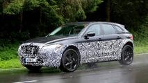 Jaguar E-Pace test mule spy photo