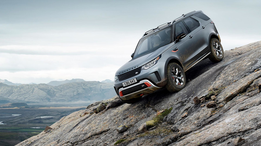 Land Rover Discovery SVX V8 gücü ve off-road kabiliyetiyle geldi