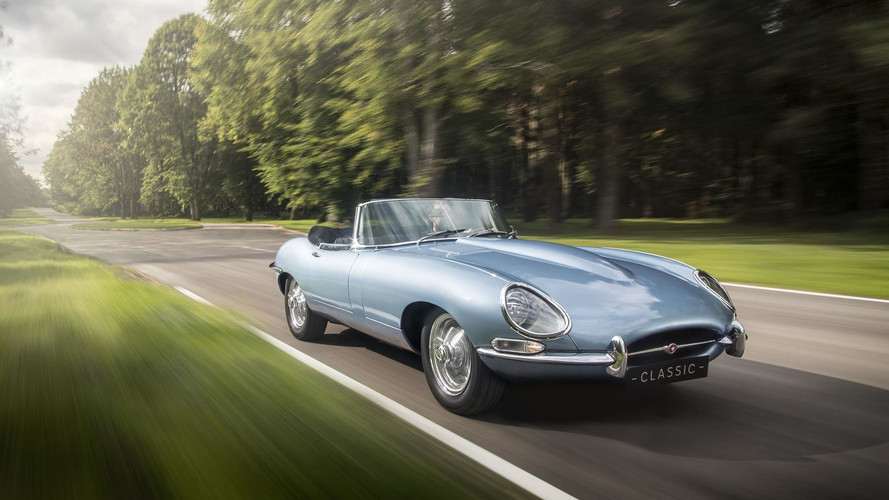 VIDÉO - Jaguar présente une Type-E... électrique !