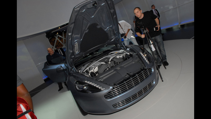 Aston Martin Rapide: i prezzi inglesi