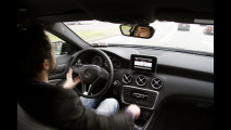 Test di Tech Mercedes Classe A, Milano