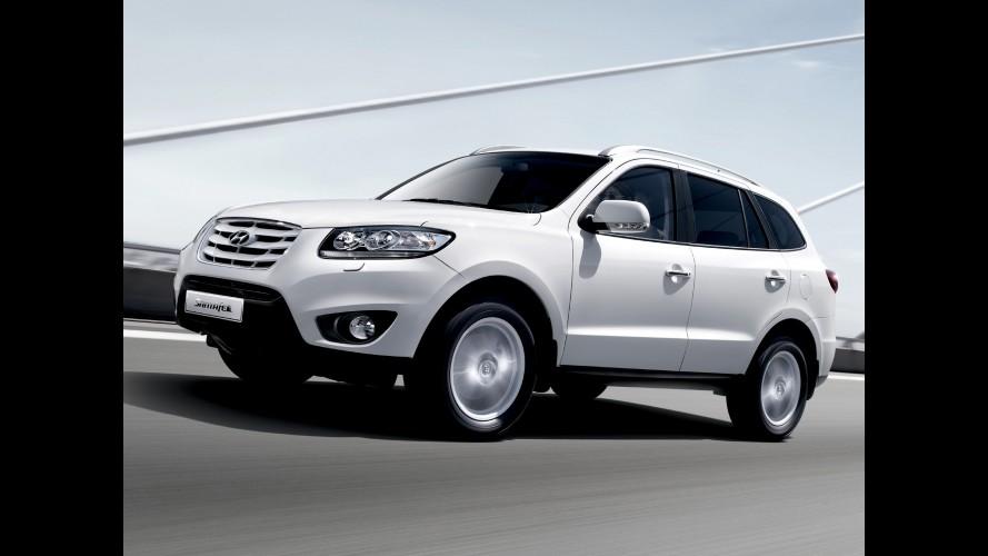 Hyundai Santa Fe ganhará versão mais barata com motor 2.4 em breve