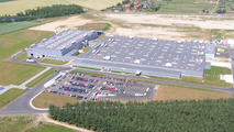 Toyota motor factory in poland