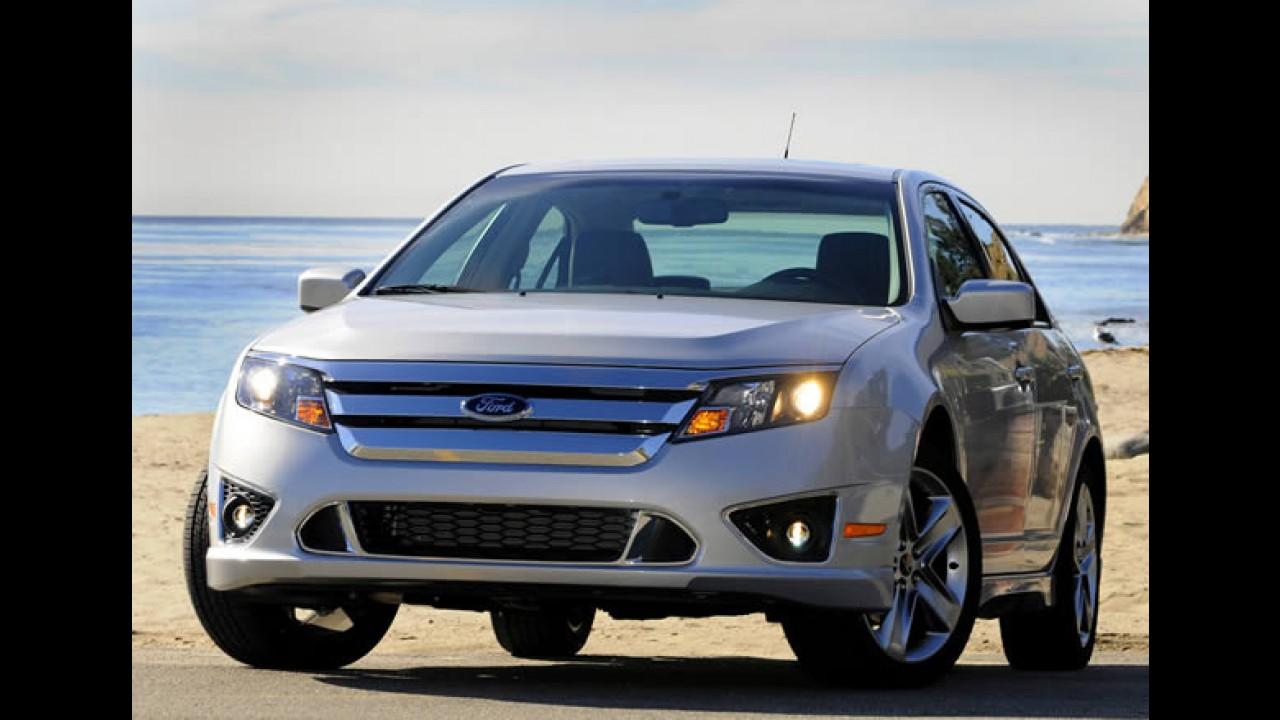 Ford Fusion 3.0 V6 ganha versão com tração dianteira - Veja os preços
