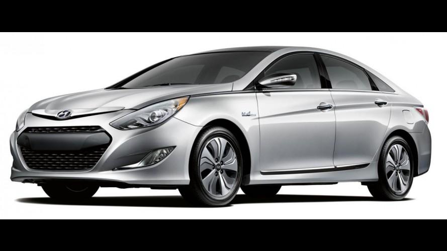 Hyundai Sonata Hybrid 2013 ganha nova bateria e motor elétrico mais potente nos EUA