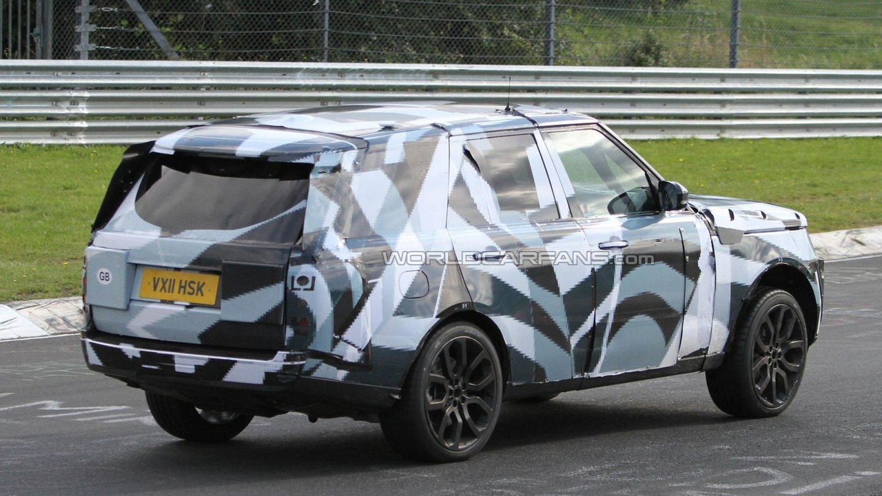 2013 Range Rover spied - interior too - 02.11.2011