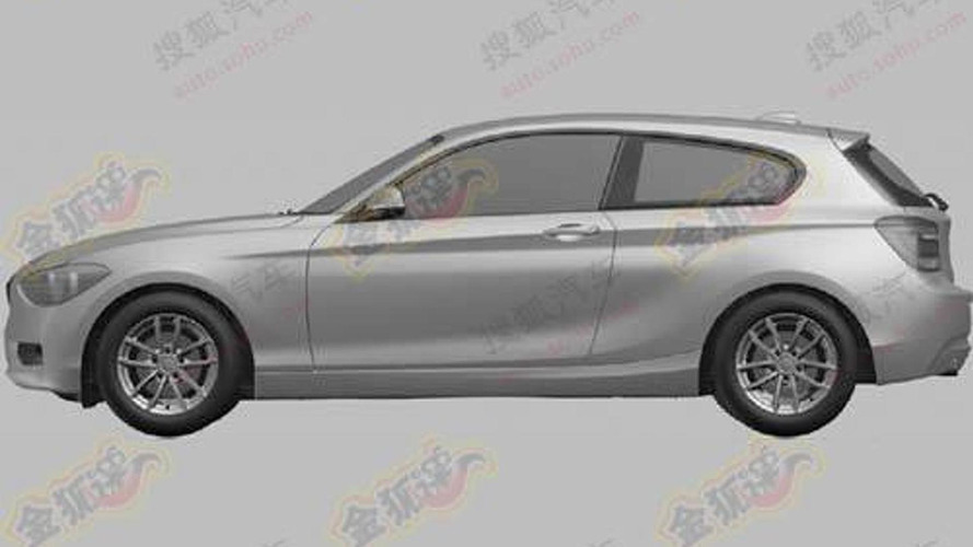 BMW 1 Series 3-door hatchback designs exposed