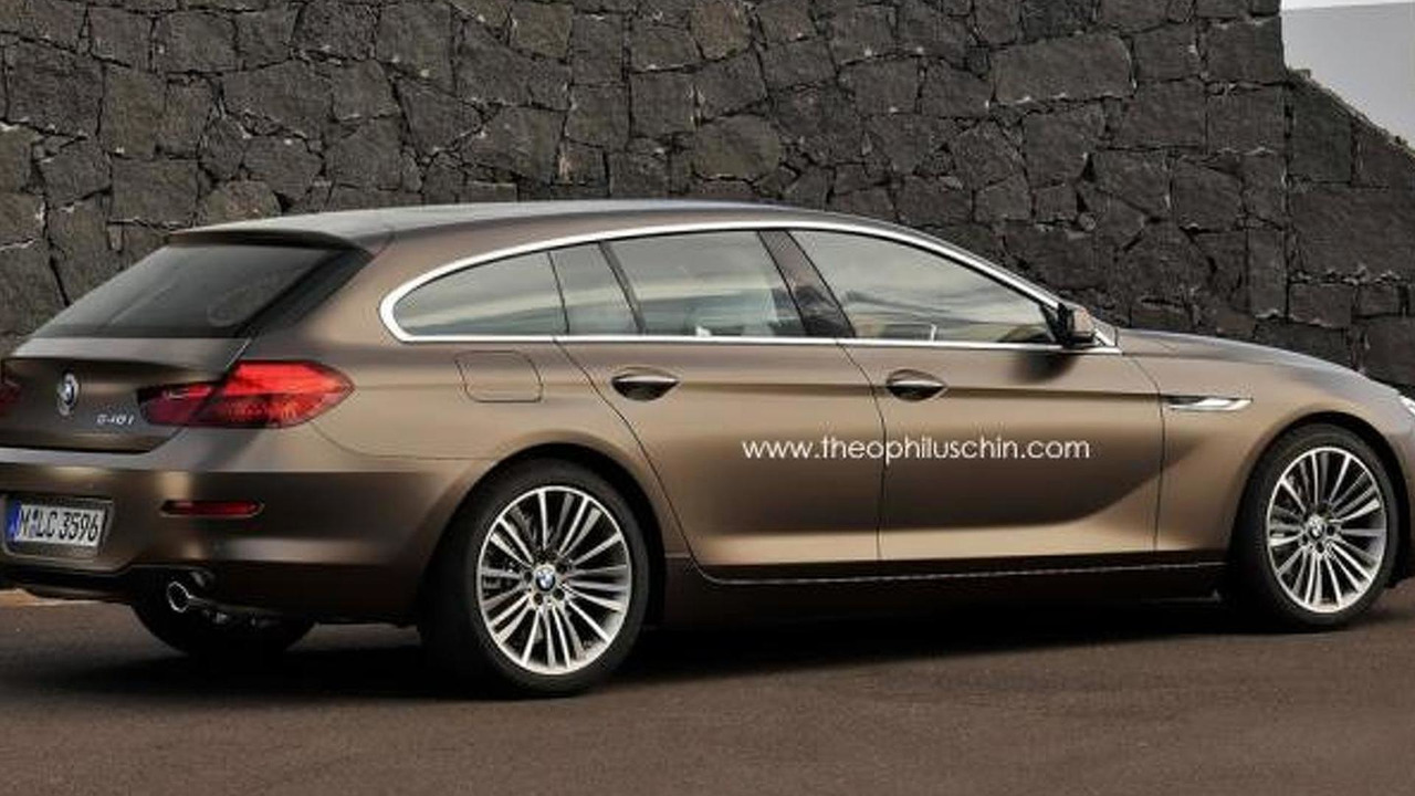 BMW 6-Series Gran Touring artists rendering