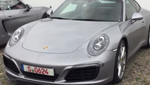Porsche 911 facelift filmed up close and personal in Germany