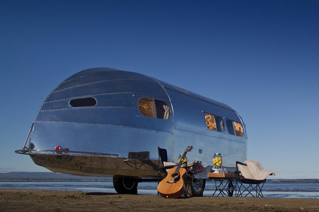 Predating Airstream: The Bowlus Road Chief Luxury Trailer