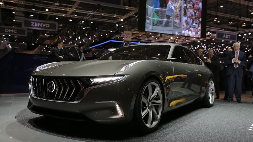 Pininfarina H600 Concept 2017, la berlina de representación híbrida del futuro