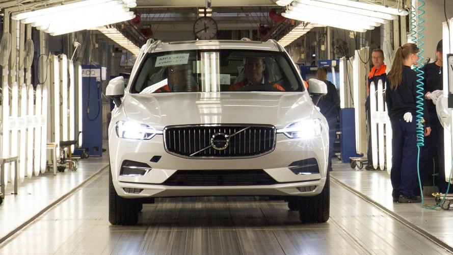 Volvo XC60 comienza la producción