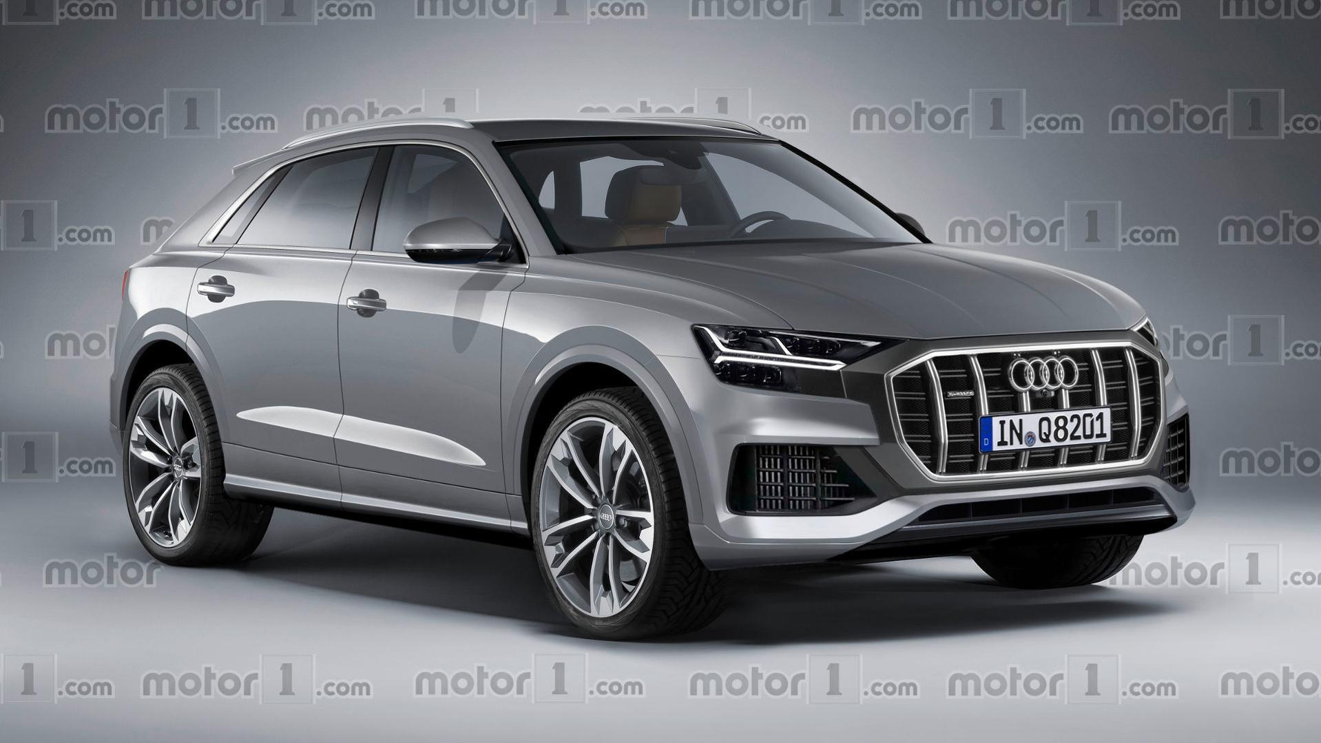 Audi Q8 Bilder — BMB Fotos