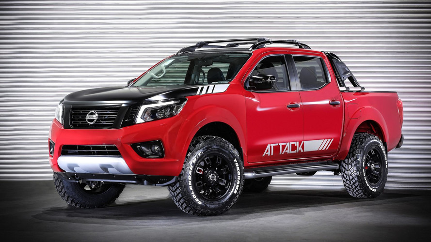 Nissan Frontier Attack Concept Shows Extra Off-Road Prowess