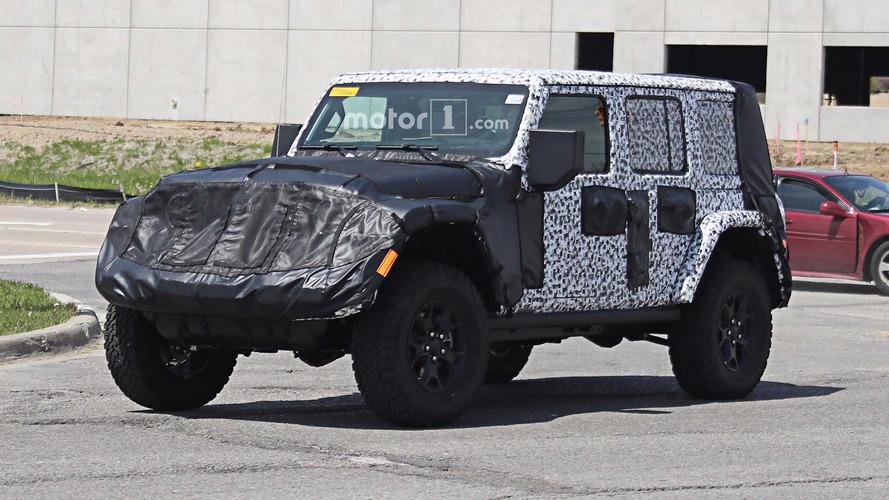 Jeep Wrangler 2018 - de nouvelles informations !