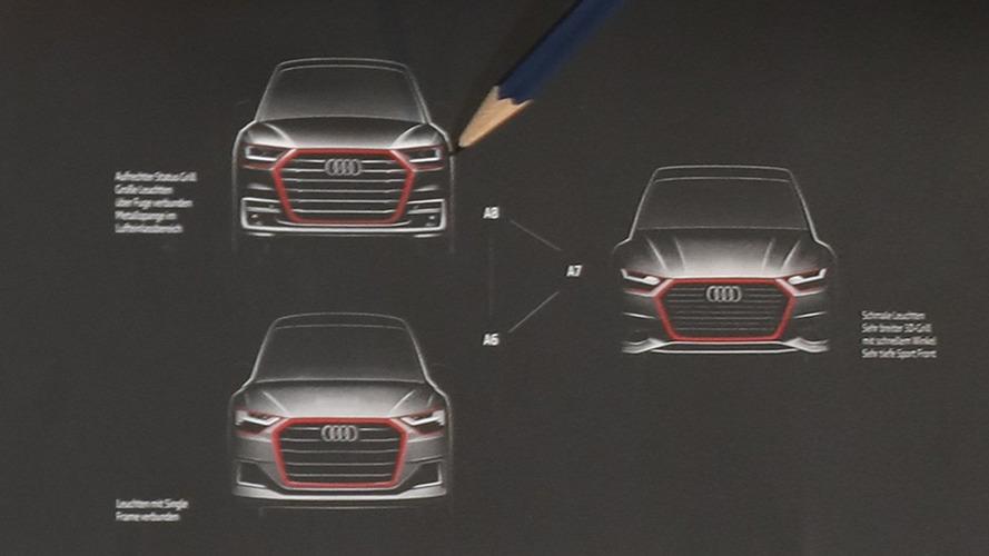 Premier aperçu des futures Audi A6, A7 et A8 !