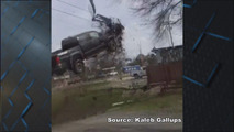 Prisoner Launches Pickup into the Air