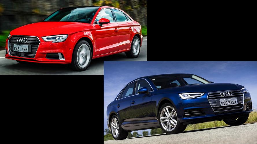 Briga em casa - Audi A3 Sedan Ambition x A4 Attraction