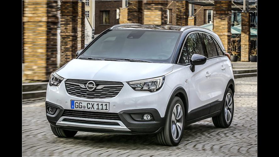 Opel Crossland X: Die Preise