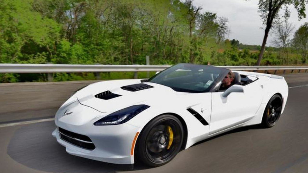 Chevrolet Corvette Stingray Convertible by Callaway