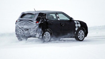 SsangYong crossover spied in Sweden, will be introduced late 2014