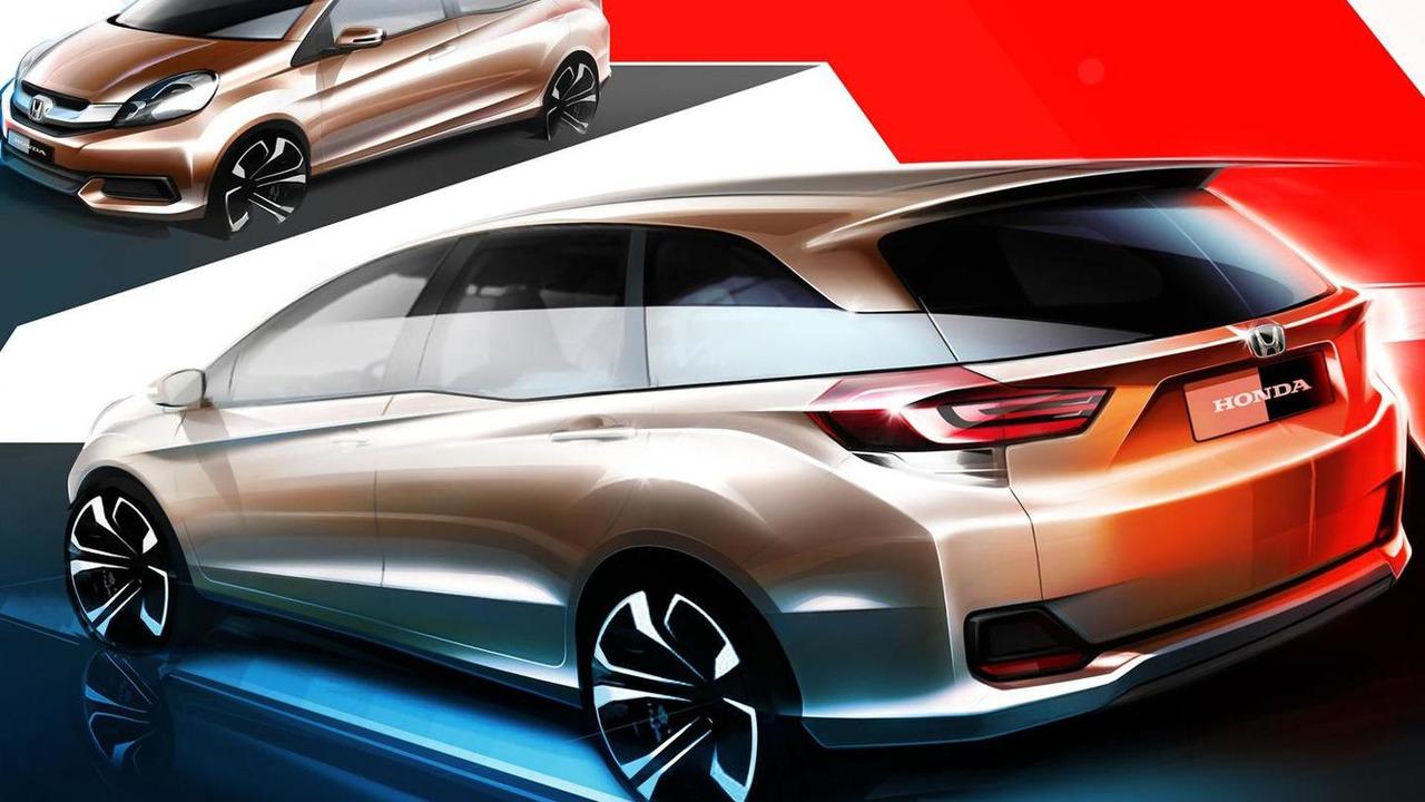 Honda entry-level MPV design sketch 19.07.2013