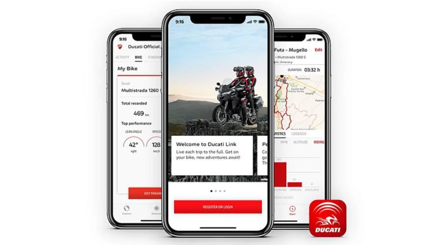 Ducati lanza su nueva app para smartphones