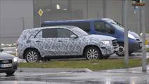 2019 Mercedes-Benz GLE casus fotoğrafları