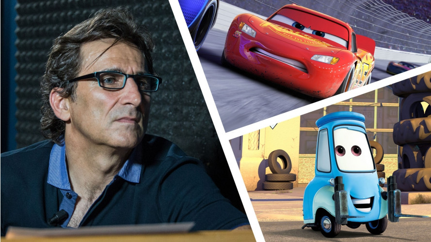 Cars 3, in esclusiva il video con Alex Zanardi