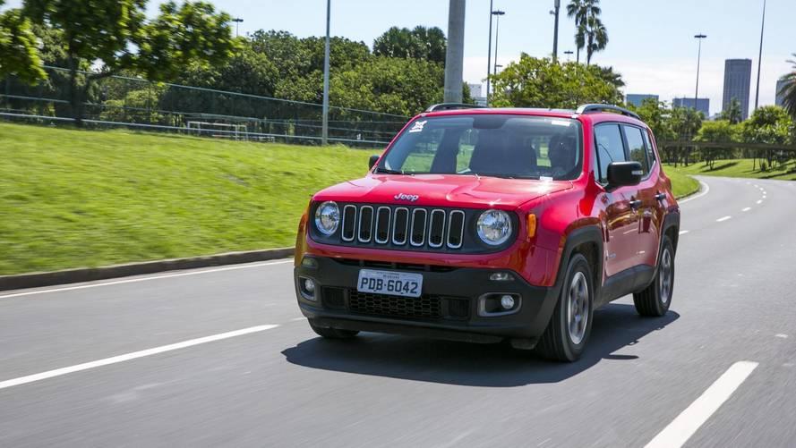 SUVs compactos em junho: Jeep Renegade lidera pelo 3º mês seguido
