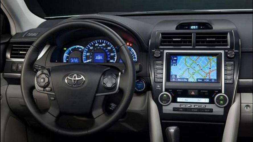 Toyota, Telenav al posto di Google ed Apple