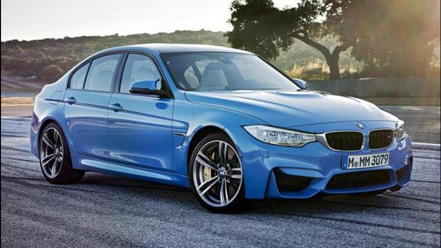 Nuova BMW M3 e BMW M4, le prime foto