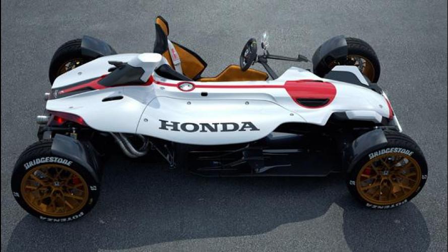 Honda Project 2&4, l'auto che è come una moto