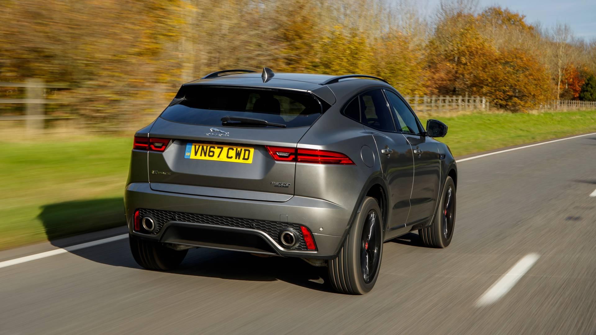 VWVortex.com - 2018 Jaguar E-Pace crossover revealed with ...