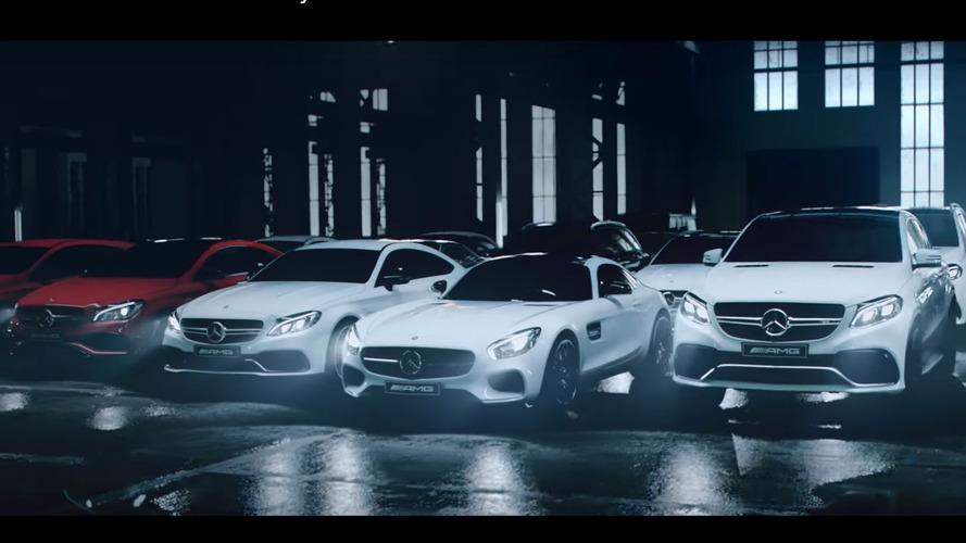 Mercedes-AMG - Toute la famille en vidéo... et en glisse !