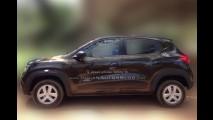 Flagra: Renault Kwid é pego no pátio da concessionária antes do lançamento